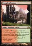 Magic the Gathering Gatecrash Single Stomping Ground FOIL - SLIGHT PLAY (SP)