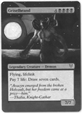 Magic the Gathering Avacyn Restored Single Griselbrand (Moon Alter) - NEAR MINT (NM)