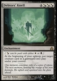 Magic the Gathering Guildpact ITALIAN Single Debtor's Knell - NEAR MINT (NM)