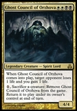 Magic the Gathering Guildpact Single Ghost Council of Orzhova - SLIGHT PLAY (SP)