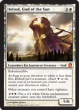 Magic the Gathering Theros Single Heliod, God of the Sun - SLIGHT PLAY (SP)