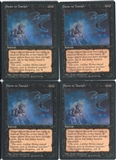 Magic the Gathering Fallen Empires PLAYSET Hymn to Tourach (VAN CAMP) X4 - SLIGHT PLAY (SP)