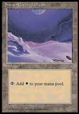 Magic the Gathering Ice Age Single Snow-Covered Plains - SLIGHTLY PLAYED (SP)