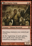 Magic the Gathering Single Instigator Gang FOIL - NEAR MINT (NM)