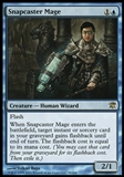 Magic the Gathering Innistrad Single Snapcaster Mage FOIL - SLIGHT PLAY (SP)