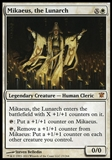 Magic the Gathering Innistrad Single Mikaeus, the Lunarch - HIGH PLAY (HP)