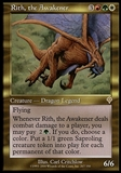 Magic the Gathering Invasion Single Rith, the Awakener - SLIGHT PLAY (SP)