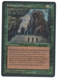 Magic the Gathering Legends Single Sylvan Library - Italian - NEAR MINT (NM)