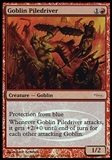 Magic the Gathering Promo Single Goblin Piledriver (JUDGE) - MODERATE PLAY (MP)