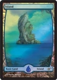 Magic the Gathering Promotional Single Basic Island FOIL (JUDGE) - NEAR MINT (NM)