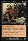 Magic the Gathering Judgment Single Balthor the Defiled - MODERATE PLAY (MP)