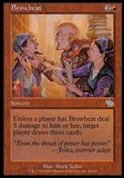 Magic the Gathering Judgment Single Browbeat FOIL - SLIGHT PLAY (SP)