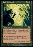 Magic the Gathering Judgment Single Epic Struggle - SLIGHT PLAY (SP)