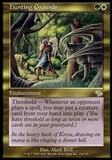 Magic the Gathering Judgment Single Hunting Grounds - MODERATELY PLAYED (MP)