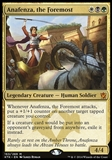 Magic the Gathering Khans of Tarkir Single Anafenza, the Foremost FOIL - SLIGHT PLAY (SP)