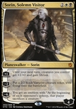 Magic the Gathering Khans of Tarkir Single Sorin, Solemn Visitor FOIL - SLIGHT PLAY (SP)