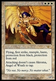 Magic the Gathering Legions Single Akroma, Angel of Wrath - MODERATE PLAY (MP)