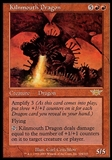 Magic the Gathering Legions Single Kilnmouth Dragon FOIL - SLIGHT PLAY (SP)