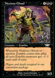 Magic the Gathering Legions Single Noxious Ghoul FOIL - NEAR MINT (NM)