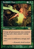 Magic the Gathering Legions Single Seedborn Muse FOIL - SLIGHT PLAY (SP)