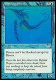 Magic the Gathering Legions Single Shifting Sliver FOIL - SLIGHT PLAY (SP)