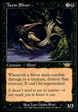 Magic the Gathering Legions Single Toxin Sliver - MODERATE PLAY (MP)