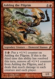 Magic the Gathering Lorwyn Single Ashling the Pilgrim Foil