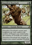 Magic the Gathering Lorwyn Single Dauntless Dourbark - MODERATE PLAY (MP)