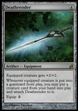 Magic the Gathering Lorwyn JAPANESE Single Deathrender FOIL - SLIGHT PLAY (SP)
