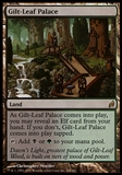 Magic the Gathering Lorwyn Single Gilt-Leaf Palace - SLIGHT PLAY (SP)