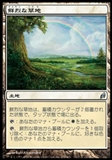 Magic the Gathering Lorwyn Single Vivid Meadow JAPANESE - NEAR MINT (NM)