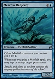 Magic the Gathering Lorwyn Single Merrow Reejerey - MODERATE PLAY (MP)