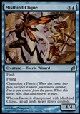 Magic the Gathering Lorwyn Single Mistbind Clique - MODERATE PLAY (MP)
