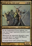 Magic the Gathering Lorwyn Single Nath of Gilt-Leaf FOIL - MODERATE PLAY (MP)
