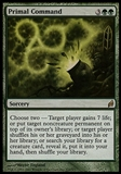 Magic the Gathering Lorwyn Single Primal Command - HEAVY PLAY (HP)