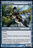 Magic the Gathering Lorwyn Single Scion of Oona - SLIGHT PLAY (SP)