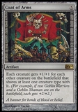 Magic the Gathering Magic 2010 Single Coat of Arms FOIL - SLIGHT PLAY (SP)