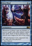 Magic the Gathering Magic 2010 Single Hive Mind FOIL - MODERATE PLAY (MP)