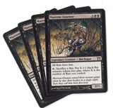 Magic the Gathering Champions of Kamigawa PLAYSET Marrow-Gnawer X4 - SLIGHT PLAY (SP)