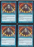 Magic the Gathering Mercadian Masques PLAYSET Brainstorm X4 - NEAR MINT (NM)