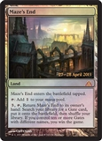 Magic the Gathering Dragon's Maze Single Maze's End Promo Foil - NEAR MINT (NM)