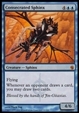 Magic the Gathering Mirrodin Besieged Single Consecrated Sphinx FOIL - SLIGHT PLAY (SP)