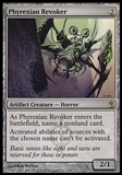 Magic the Gathering Mirrodin Besieged Single Phyrexian Revoker FOIL - SLIGHT PLAY (SP)