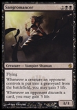 Magic the Gathering Mirrodin Besieged Single Sangromancer - NEAR MINT (NM)