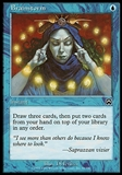 Magic the Gathering Mercadian Masques Single Brainstorm FOIL - SLIGHT PLAY (SP)