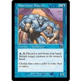 Magic the Gathering Mercadian Masques Single Waterfront Bouncer Foil - SLIGHT PLAY (SP)
