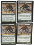 Magic the Gathering Time Spiral PLAYSET Might of Old Krosa X4 - SLIGHT PLAY (SP)