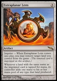 Magic the Gathering Mirrodin Single Extraplanar Lens FOIL - MODERATE PLAY (MP)