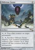 Magic the Gathering Mirrodin Single Oblivion Stone - MODERATE PLAY (MP)
