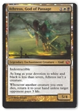 Magic the Gathering Journey into Nyx MISCUT Single Athreos, God of Passage - NEAR MINT
